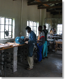 Metalworking Shop at Ha Mohatlane